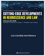 Cutting Edge Developments in Neuroscience and Law 참관기